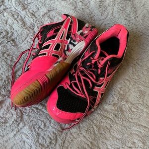 Pink & Black Volleyball shoes